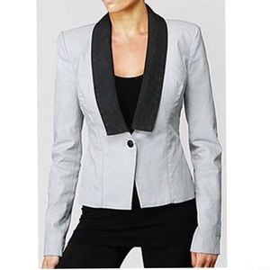Rock & Republic tuxedo blazer size 10